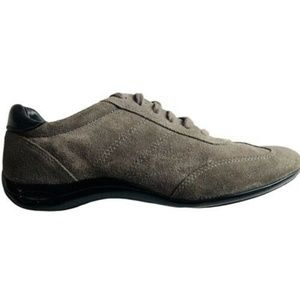 Cole Haan Nike Air Womens Shoes Gray Suede Sneaker